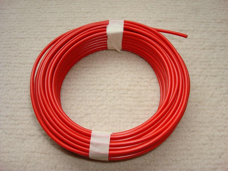 gelb rot 6 x 10m Kupferlitze LIYv 0,14mm² braun