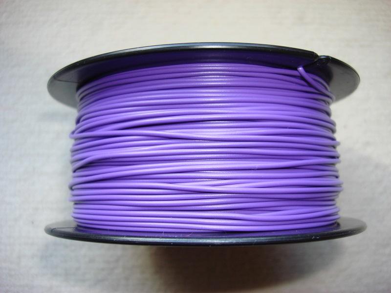 Kupferlitze 100 m - 0,25 qmm - violett