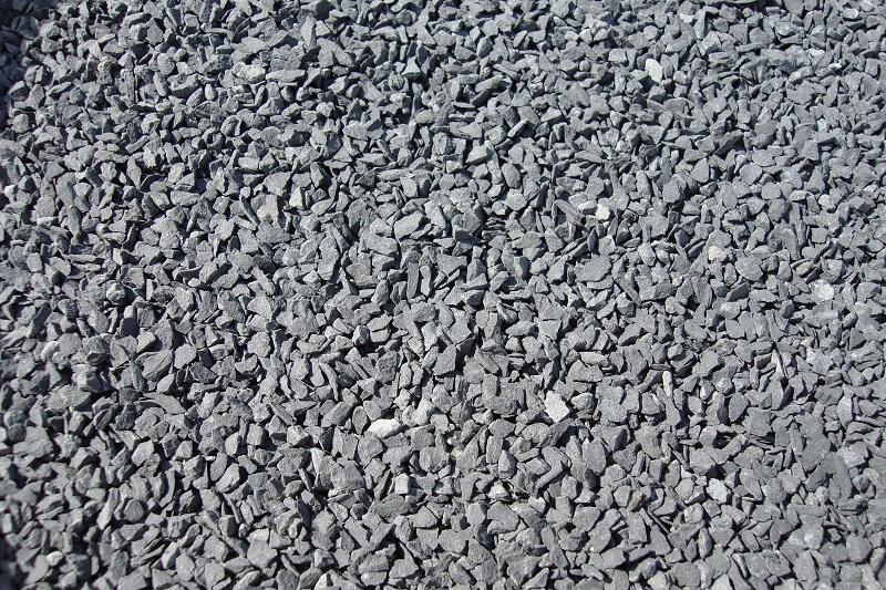 500 gr. Gleisschotter Basalt, Spur 1, Koernung 2,0 - 3,0
