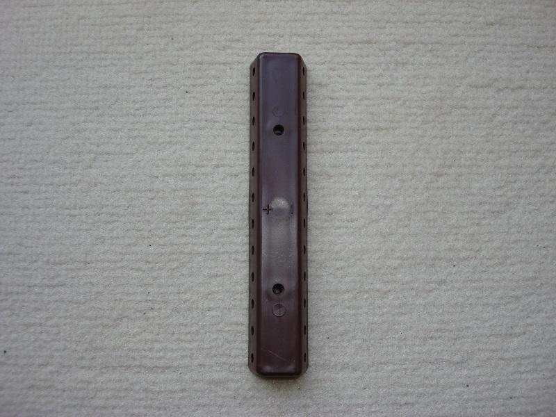 1 Stueck Verteilerplatte braun