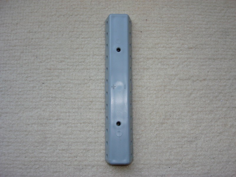1 Stueck Verteilerplatte grau