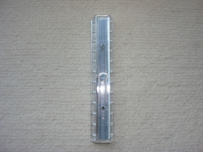 1 Stueck Verteilerplatte transparent