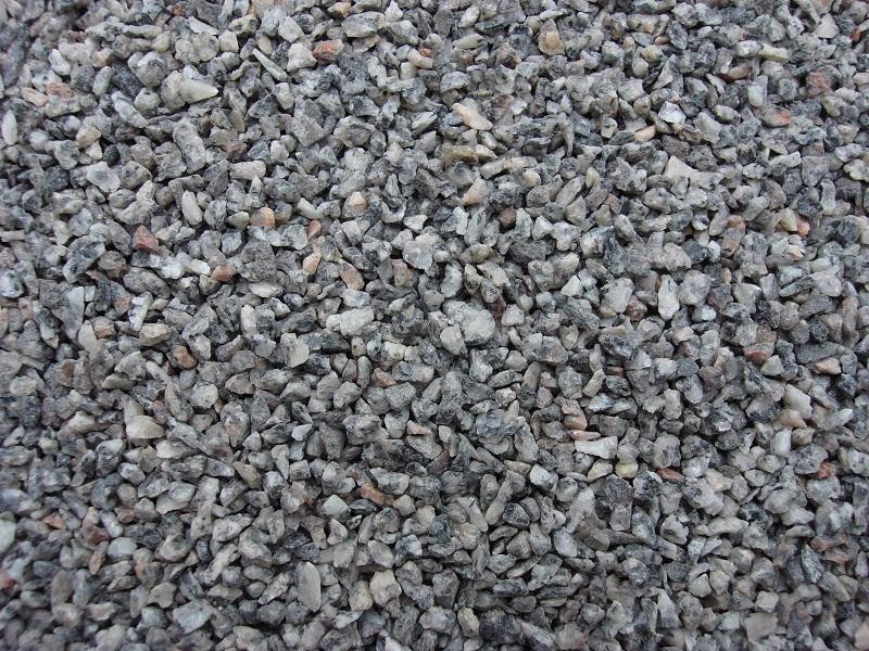 2,5 kg Gleisschotter Granit grau meliert, Spur 1, Koernung 2,0 - 4,0*