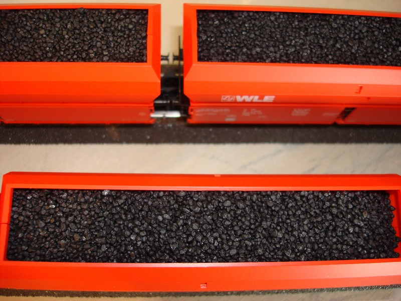 1,0 kg Ladegut schwarz,  Spur 0, 1,0 - 1,8 mm Koernung