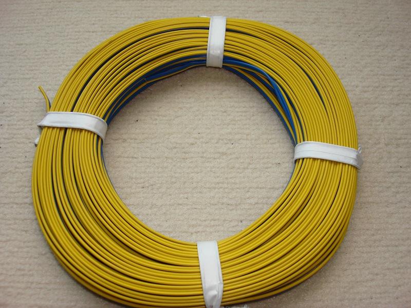 25 m Drillingslitze blau/blau/gelb